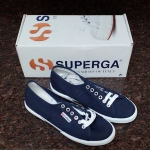 Superga womens Cotu blue